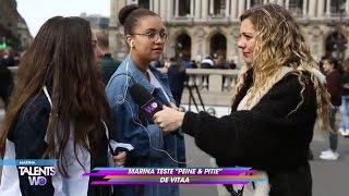 """Marina teste """"Peine et Pitié"""" de Vitaa"""