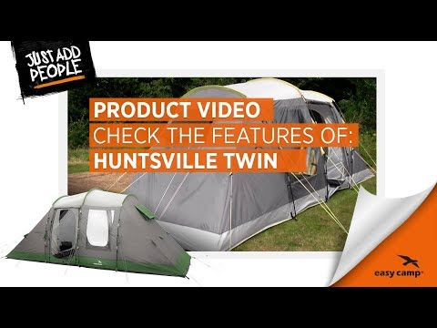 Huntsville Twin Family Tent (2018) | Just Add People