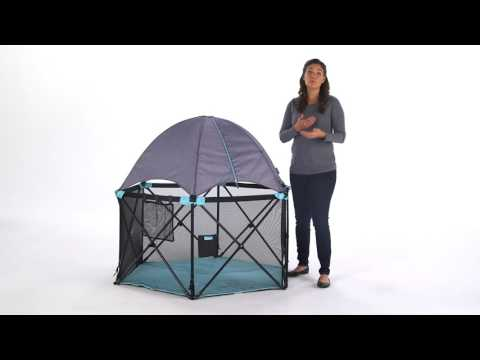 Summer Infant Pop 'N Play Deluxe Ultimate Playard Product video