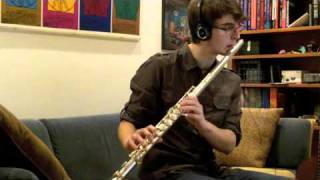 Coraline's Exploration Theme played on Alto Flute