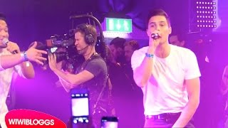 """Melodifestivalen Afterparty: Eric Saade sings """"Sting"""" live 