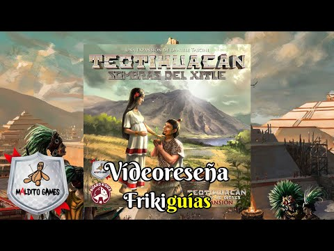 Reseña Teotihuacan: Shadow of Xitle