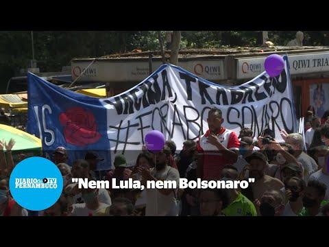 Domingo de protestos contra Bolsonaro