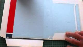 Tutorial How to make a pop up book(low cost) - YouTube