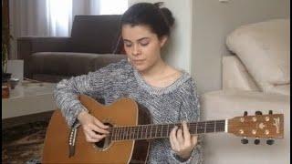 Vanessa da Mata - Não me deixe só (Arianne Ruas Acoustic Cover)