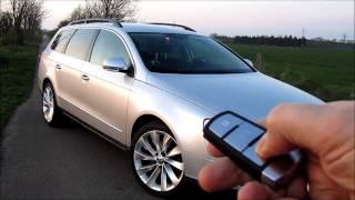 VW Passat (3C) Bips alarme + ouv/ferm vitres confort