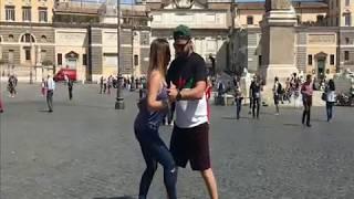 Kizomba en Roma por Zeky y Claudia