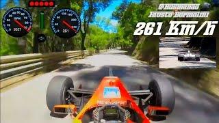Fausto Bormolini Rampa Falperra | Onboard 261 kmh | Top Speed !!