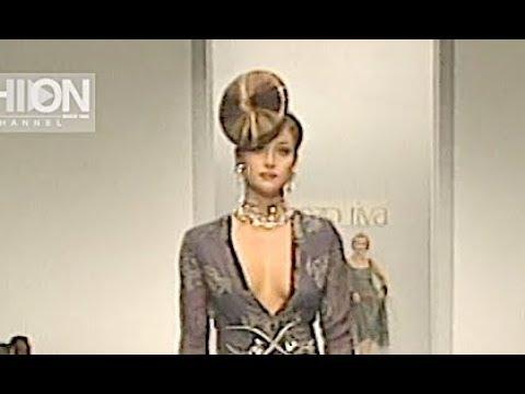 LORENZO RIVA Fall 1999 2000 Haute Couture Rome - Fashion Channel