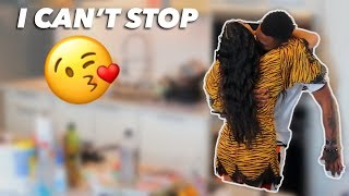 I CAN'T STOP KISSING YOU PRANK!!