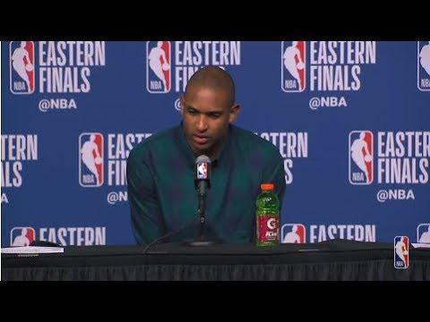 Al Horford Postgame Interview   Cavaliers vs Celtics Game 5