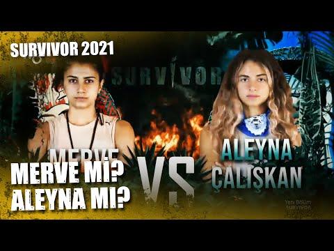 MERVE-ALEYNA YARIŞI | Survivor 2021