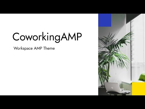 Mobirise Coworking Space Website Theme | CoworkingAMP