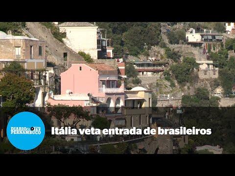 Itália proíbe entrada de viajantes brasileiros