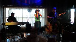Bill Buchman Kellie Rucker and Steve Arvey At The Blue Rooster Sarasota 2014