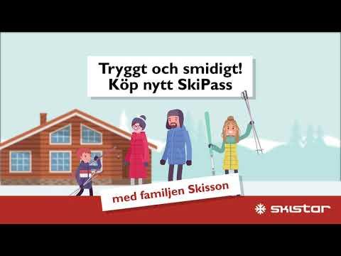 SkiStar SkiPass pick up