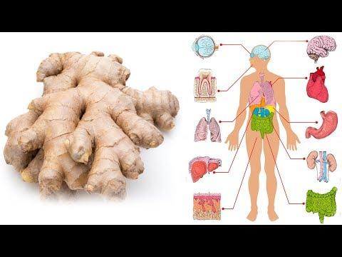 Iss Ingwer jeden Tag einen Monat lang und das wird mit deinem Körper passieren! - Video