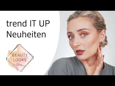 Make-Up Look mit trend IT UP Neuheiten mit Olesja