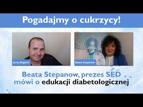 Edukacja to nasz konik - Beata Stepanow mówi o edukacji diabetologicznej (na żywo)