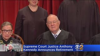Supreme Court Justice Anthony Kennedy Announces Retirement