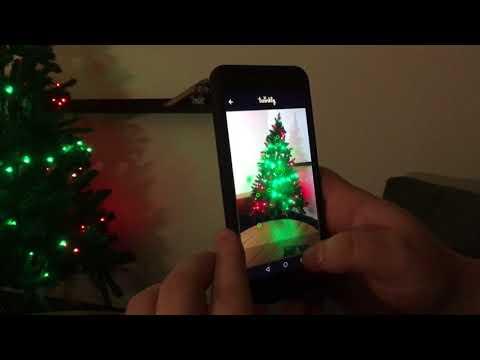 RGB till julgranen!? Vi kikar på Twinkly String!