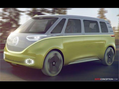 Transportation Design: 2017 Volkswagen I.D. Buzz Concept