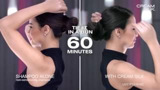 Watch #BeyondBeautiful Yassi Pressman transform her hair up to 4x straighter