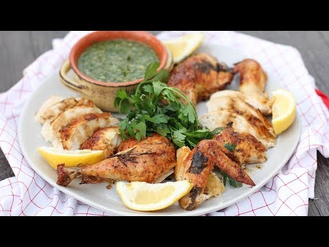The Best Roast Chicken with Chimichurri