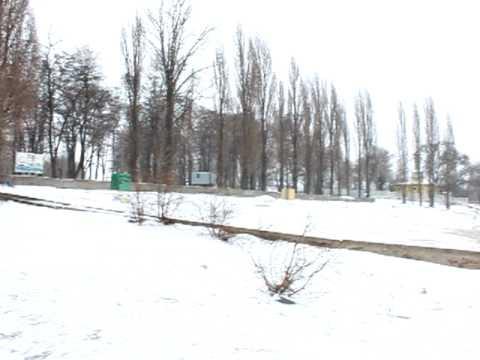 21.01.2010…Winter and riverside.Zaporizhzhya.Ukraine..MOV