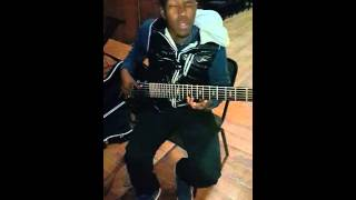 "Banzi Mashiya_ BASS COVER ""Letta Mbuli_ Music in the air"""