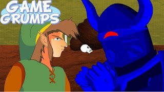 Game Grumps Animated - Zelda Faces of Evil - You Must Die