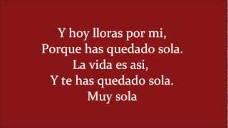 Los Iracundos - Y Te Has Quedado Sola Letra/Lyrics