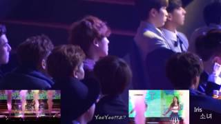 EXO and B1A4 react to Red Velvet Happiness