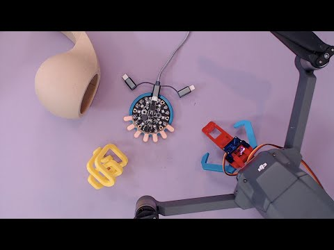 3D Hangouts – Makerfaire, CNC PCB and Drone Claw