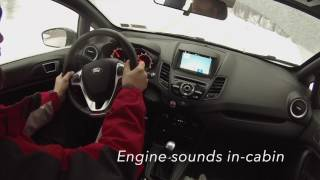 2016 Ford Fiesta ST SVT handling , sound symposer Ford global Performance