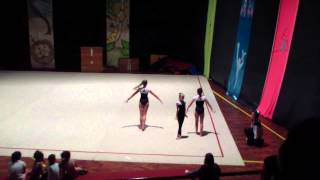 Trio Atuação Ginástica Acrobática - Sarau AAE 2015