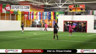 Inter vs Chicas Croatas Chitown Friday Night League