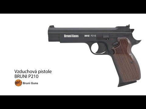 Vzduchová pistole Bruni P210