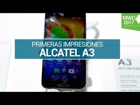 Alcatel A3, lo probamos en MWC