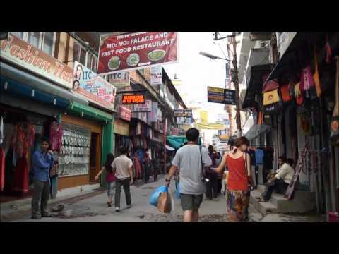 Walking in Thamel Kathmandu