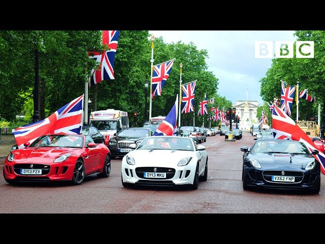 Tribute to British automobile manufacturing