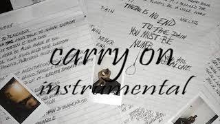 Xxxtentacion- Carry On instrumental (prod. Timstacks)