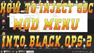 [Tutorial] How To Inject GSC Mod Menu into Black Ops 2 [Injector Download] [Jailbreak]