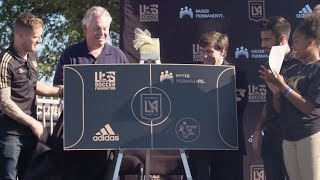 LAFC & Kaiser Permanente Dedicate Community Soccer Pitch At Bethune Middle School