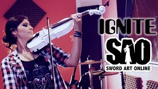 SWORD ART ONLINE II (IGNITE) ❤ Violin ANIME COVER!