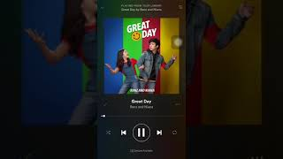 NEW SONG!! GREAT DAY by Ranz and Niana