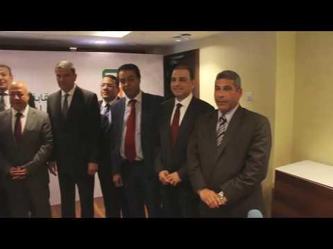 """بالفيديو : بروتوكول تعاون بين """"المحامين"""" والبنك الأهلي لشراء شهادة أمان"""
