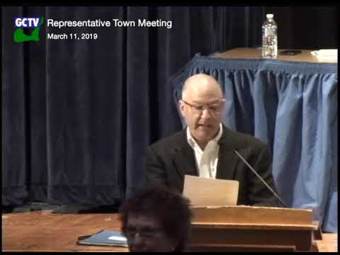 Representative Town Meeting, March 11, 2019