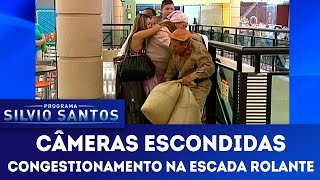 Congestionamento na Escada Rolante | Câmeras Escondidas (18/11/18)