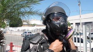 Robocop? BME apresenta novo traje para encarar protestos